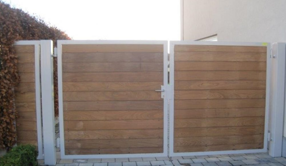 Verbazingwekkend Dubbele poorten - Moderne of klassieke poort laten maken? VC-77